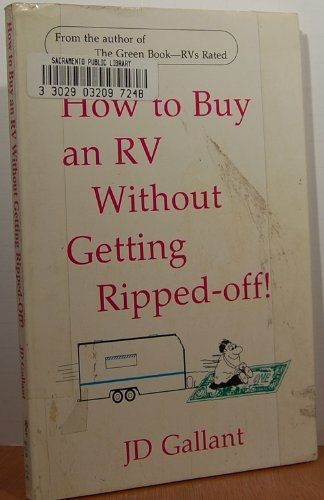 9781884046513: How to Buy an Rv Without Getting Ripped-Off