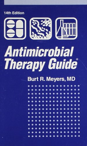9781884065569: Antimicrobial Therapy Guide