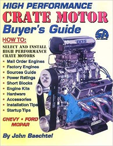 9781884089138: High Performance Crate Motor Buyer's Guide (S-A Design)