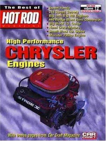 High Performance Chrysler Engines (Best of Hot Rods): Adkins, Frank