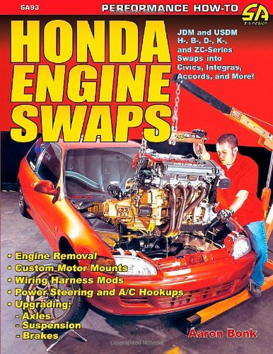9781884089930: Honda Engine Swaps (S-A Design)