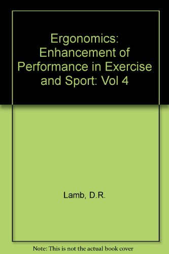 9781884125089: 4: Perspectives in Exercise Science and Sports Medicine: Ergogenics : Enhancement of Athletic Performance