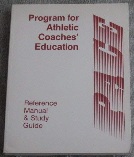 9781884125522: The Program for Athletic Coaches Education (PACE)