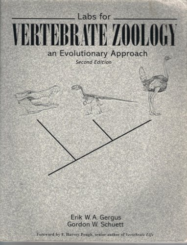 9781884125782: Labs for Vertebrate Zoology: An Evolutionary Approach