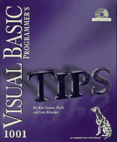 1001 Visual Basic Programmer's Tips: Kris A. Jamsa,