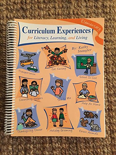 9781884135392: Curriculum Experiences for Literacy, Learning and Living: Elementary