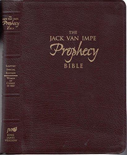 Jack Van Impe Prophecy Bible (Special Limited Edition /Words of Christ in Red): Jack Van Impe