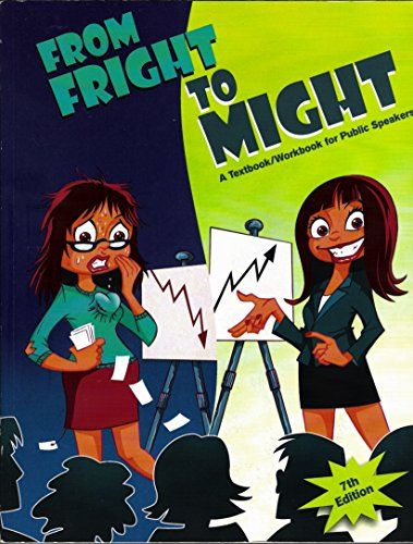 9781884155444: From Fright to Might Overcoming the Fear of Public Speaking