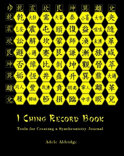 9781884178245: I Ching Record Book: Tools for Creating a Synchronicity Journal