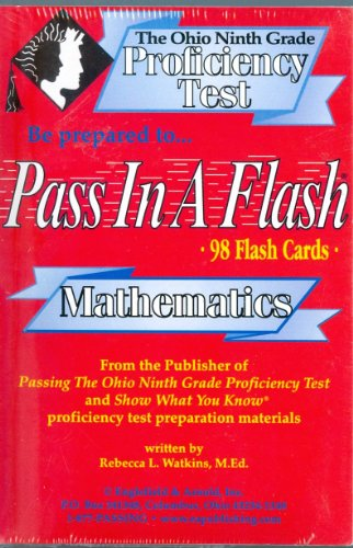 9781884183072: Ohio 9th Grade Math Flashcards (9th Grade)