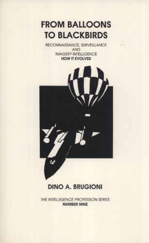 From Balloons to Blackbirds: Reconnaissance Surveillance and Imagery Intelligence. How It Evolved (...