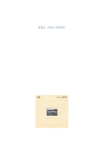 9781884355042: Bas Jan Ader