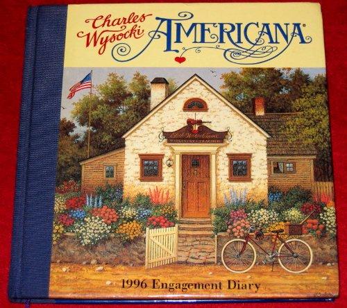9781884358234: Charles Wysocki Americana Engagement Diary-1996 Calendar