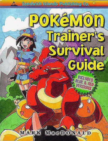 9781884364334: Pokemon Trainer's Survival Guide: Includes Blue and Red Versions