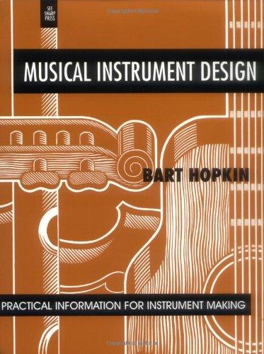 9781884365089: Musical Instrument Design: Practical Information for Instrument Making