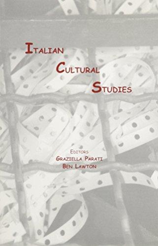 9781884419492: Italian Cultural Studies (VIA Folios)