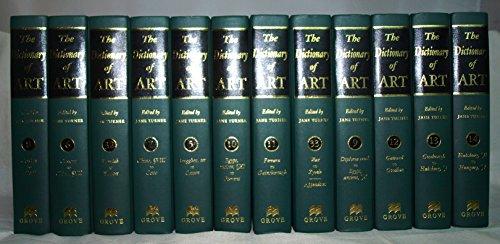 The Dictionary of Art. Komplett in 34 Bänden.: Turner, Jane: