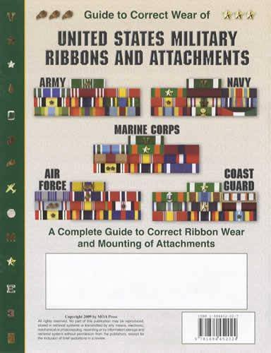 9781884452024: Guide to Correct Wear of United States Military Ribbons