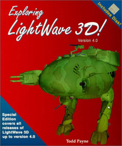 9781884474125: Exploring Lightwave 3d: Version 4.0