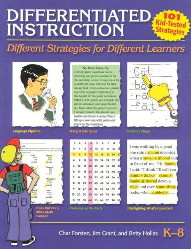 9781884548420: Differentiated Instruction: Different Strategies for Different Learners