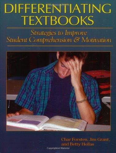 9781884548482: Differentiating Textbooks: Strategies to Improve Student Comprehension and Motivation