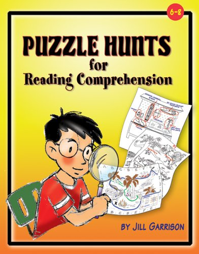 9781884548864: Puzzle Hunts for Reading Comprehension