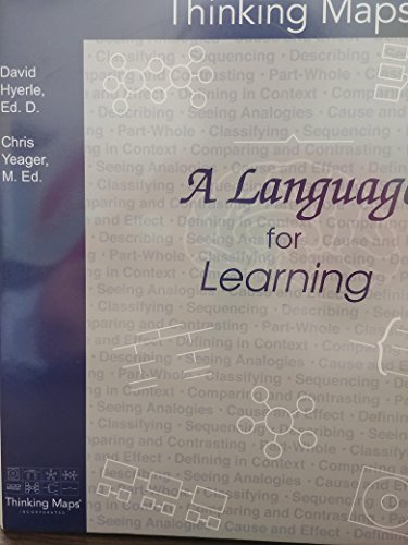9781884582271 thinking maps a language for learning