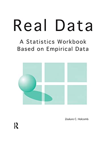 9781884585043: Real Data: A Statistics Workbook Based on Empirical Data