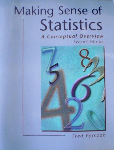 9781884585333: Making Sense of Statistics: A Conceptual Overview