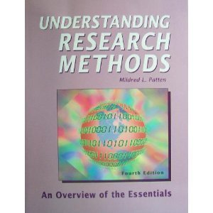 9781884585524: Understanding Research Methods: An Overview of the Essentials