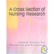 A Cross Section of Nursing Research-3rd Ed: Peteva, Roberta J