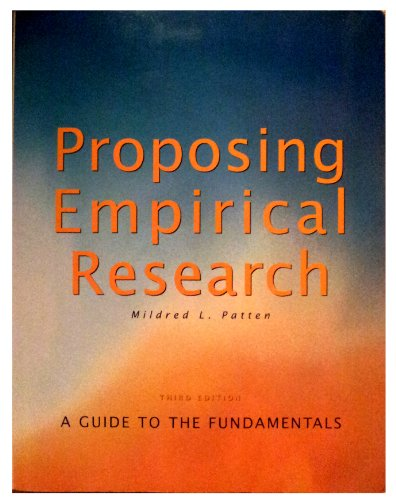 9781884585623: Proposing Empirical Research: A Guide to the Fundamentals
