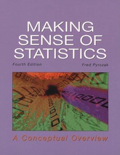 9781884585708: Making Sense of Statistics: A Conceptual Overview