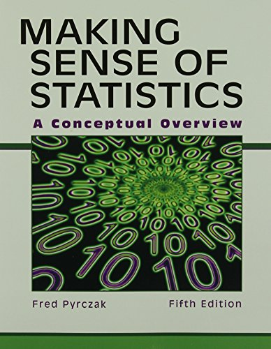 9781884585883: Making Sense of Statistics: A Conceptual Overview