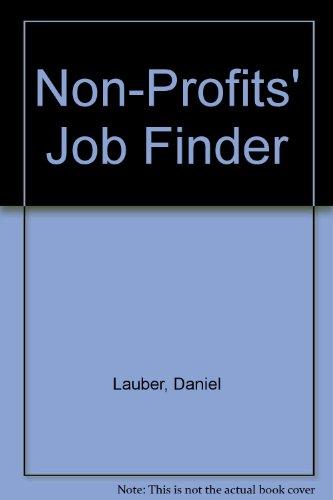 9781884587023: Non-Profits' Job Finder