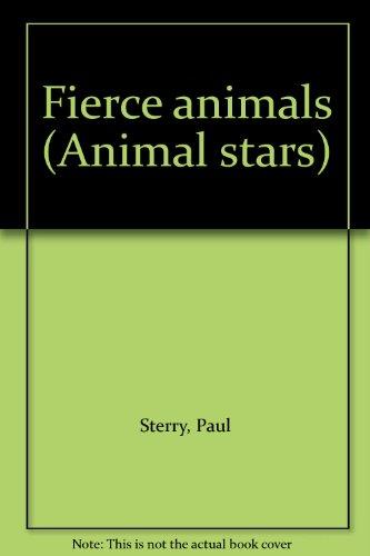 9781884628153: Fierce animals (Animal stars)
