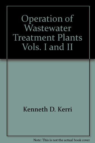 9781884701023: Operation of Wastewater Treatment Plants, Vols. I and II