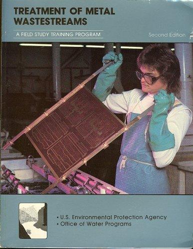 9781884701078: Treatment of Metal Wastestreams (A Field Study Training Program)