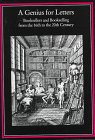 9781884718168: A Genius for Letters: Booksellers and Bookselling from the 16th to the 20th Century (Publishing Pathways)