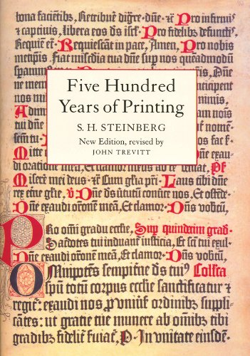 9781884718205: Five Hundred Years of Printing