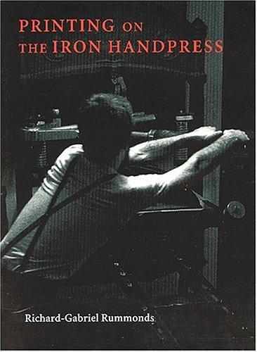 9781884718403: Printing on the Iron Handpress