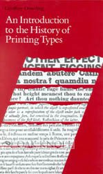 9781884718434: An Introduction to the History of Printing Types: An Illustrated Summary of the Main Stages in the Development of Type Designs from 1440 Up to the Present Day : An Aid to Type Face Identification