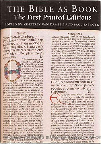 9781884718922: The First Printed Editions (Bible as Book) (Vol 2)