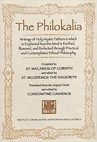 The Philokalia: Love of the Beautiful
