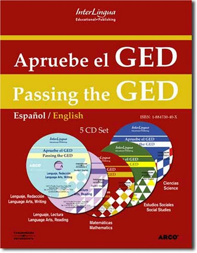 9781884730405: Passing the GED / Apruebe el GED (Spanish and English Edition)