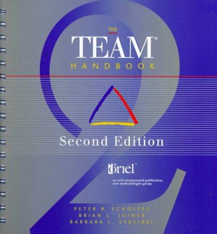 9781884731112: The Team Handbook