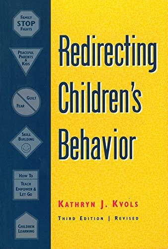 9781884734304: Redirecting Children's Behavior