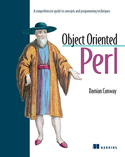 Object oriented perl damian conway