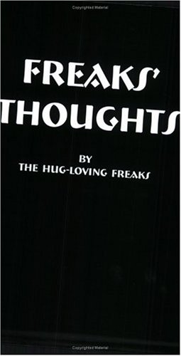 9781884778575: Freaks' Thoughts