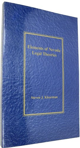 9781884778834: Elements of Nevada legal theories